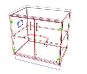 Machining in 3D in CabMaster Premium