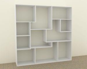 Crazy Bookshelf in CabMaster Premium