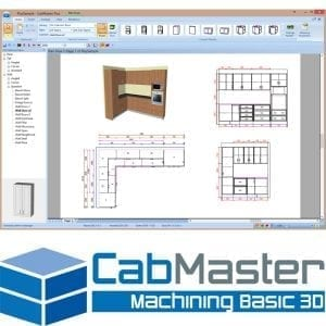 CabMaster Machining Basic 3D